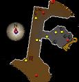 Brass key location