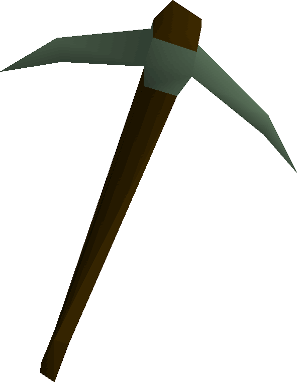 Adamant pickaxe