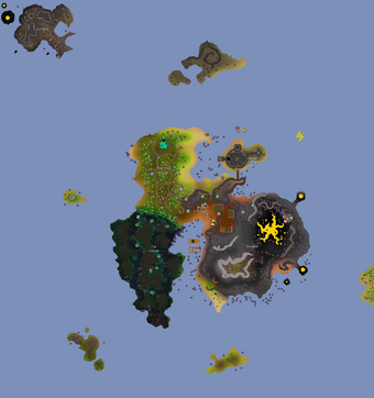 Fossil Island Old School Runescape Wiki Fandom Tar monsters now inflict less damage with both their standard attacks and their aoe attacks. fossil island old school runescape
