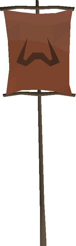 Zamorak banner