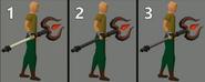 Thammaron's sceptre work-in-progress