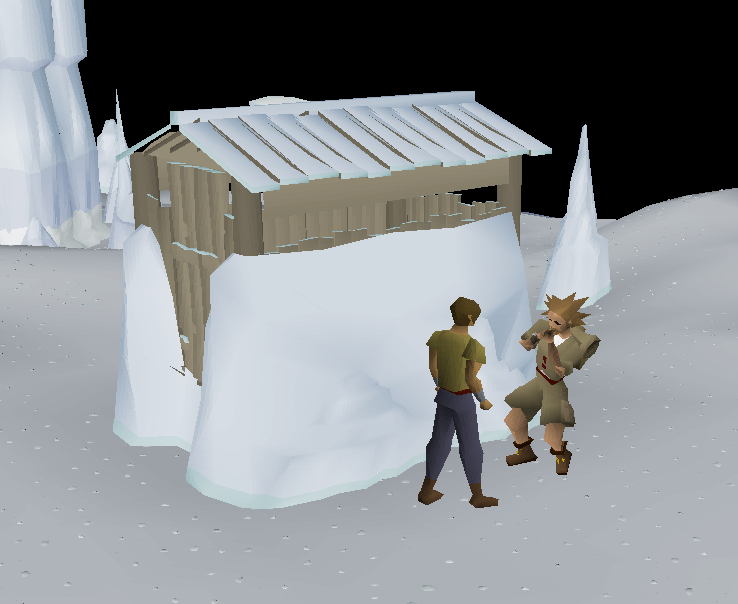 Finished bird hide structure.png