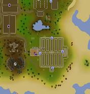 Tithe Farm map