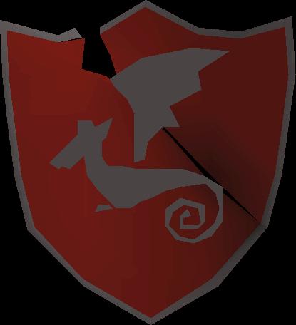 Shield right half