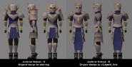 Justiciar armour poll designs