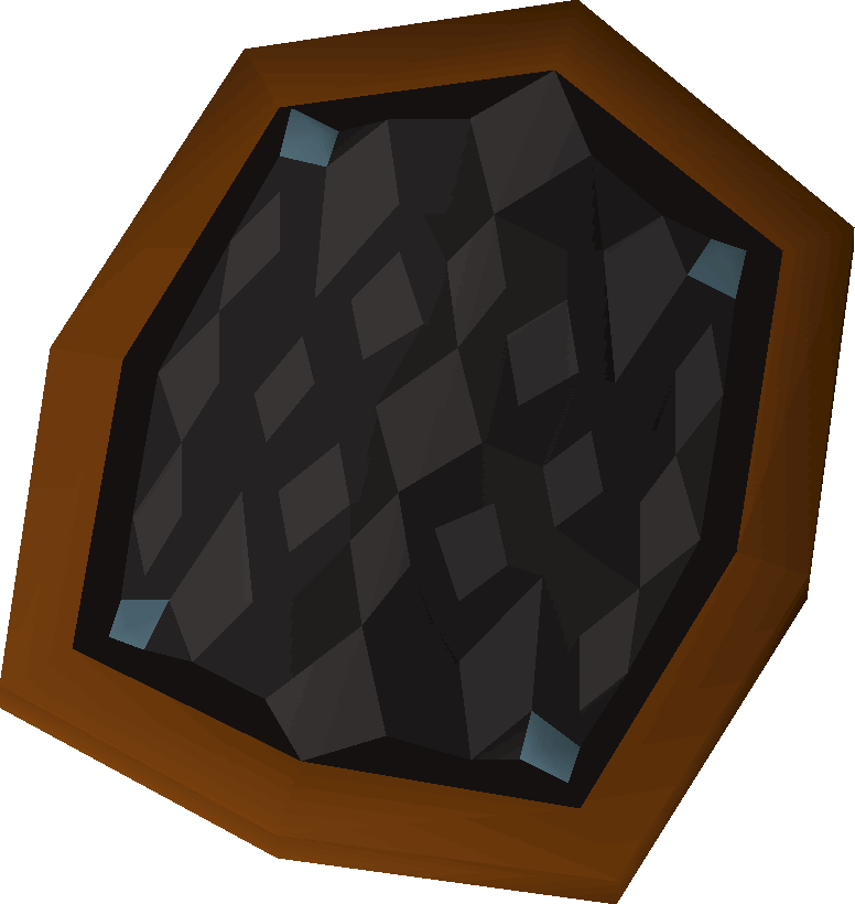 Black d'hide shield