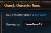 Character Name Clean-Up – First Batch Next Week