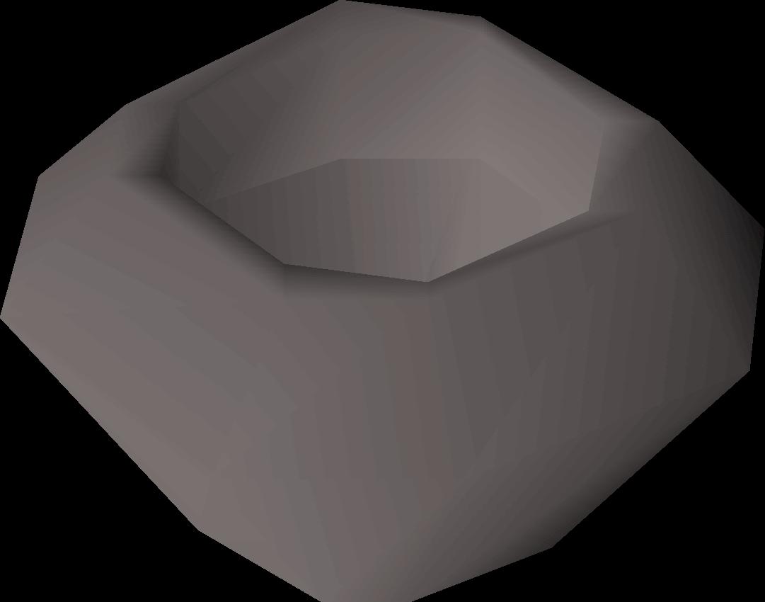A stone bowl