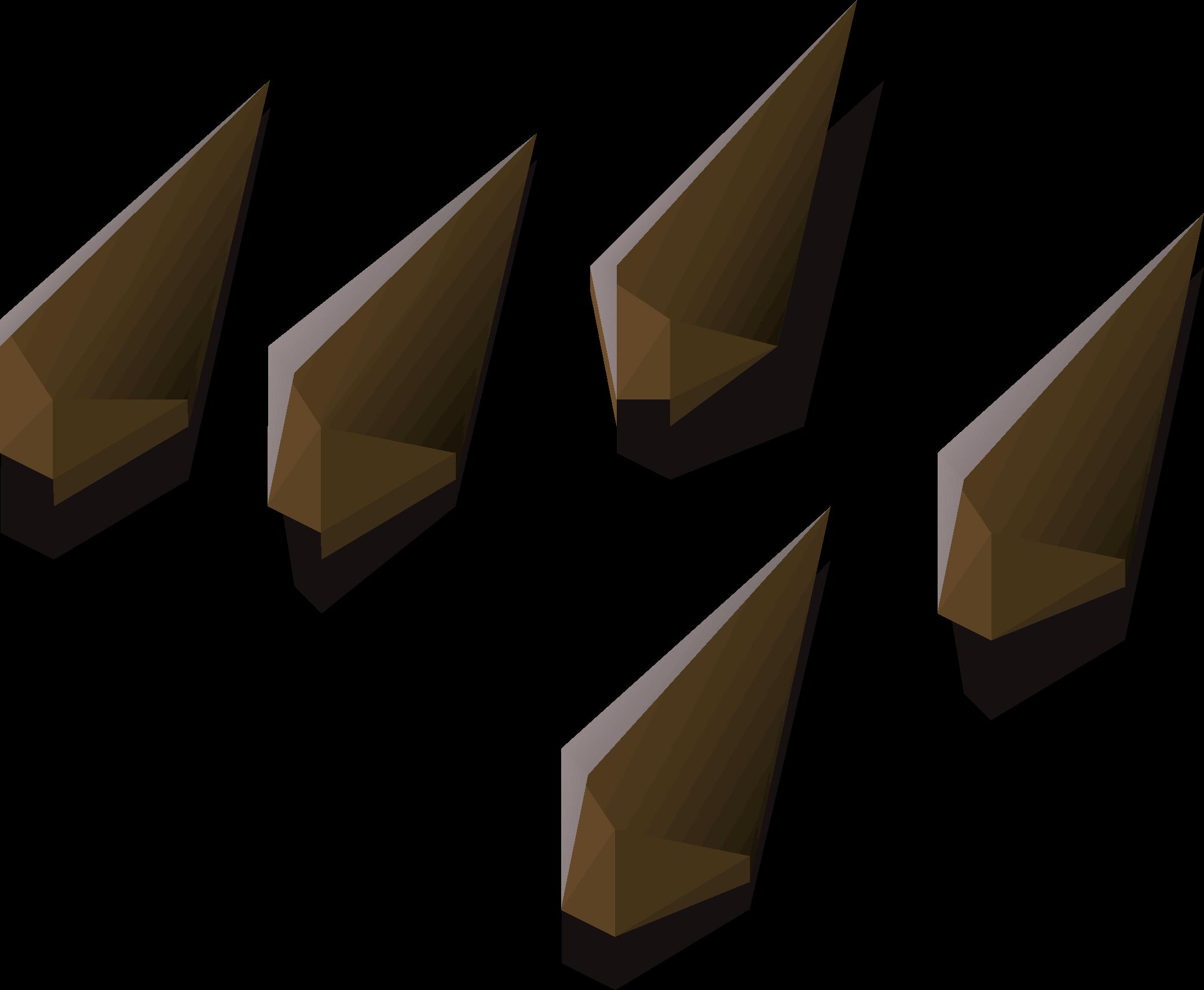 Bronze arrowtips