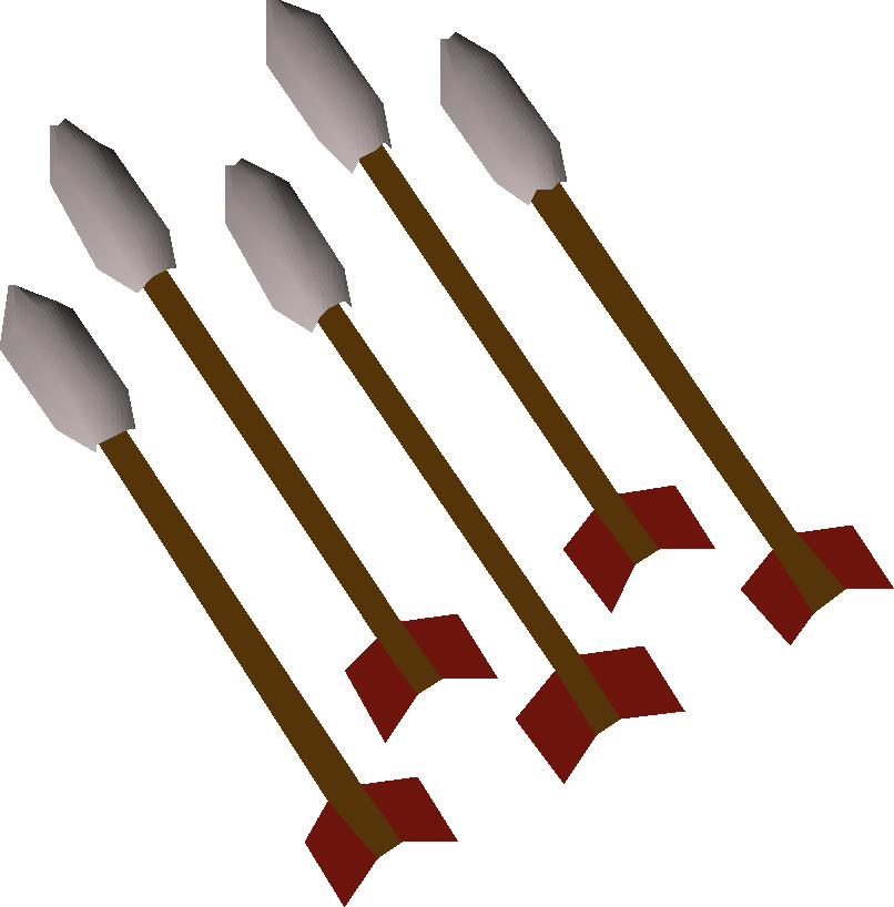 Amethyst fire arrows