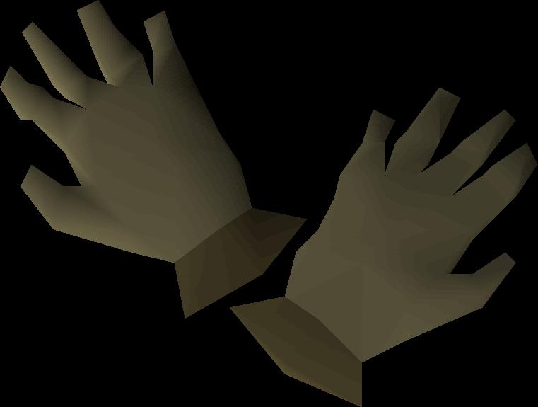 Hardleather gloves