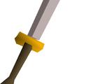 White 2h sword