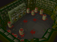 Slepe Dungeon blood storage room