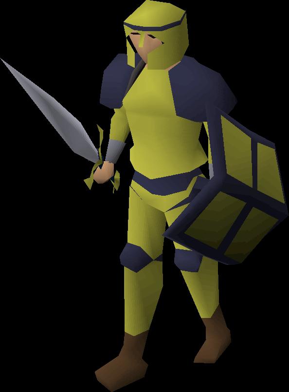 Gold decorative sword