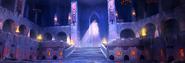 Theatre of Blood throne room artwork