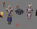 Justiciar armour v2 work-in-progress
