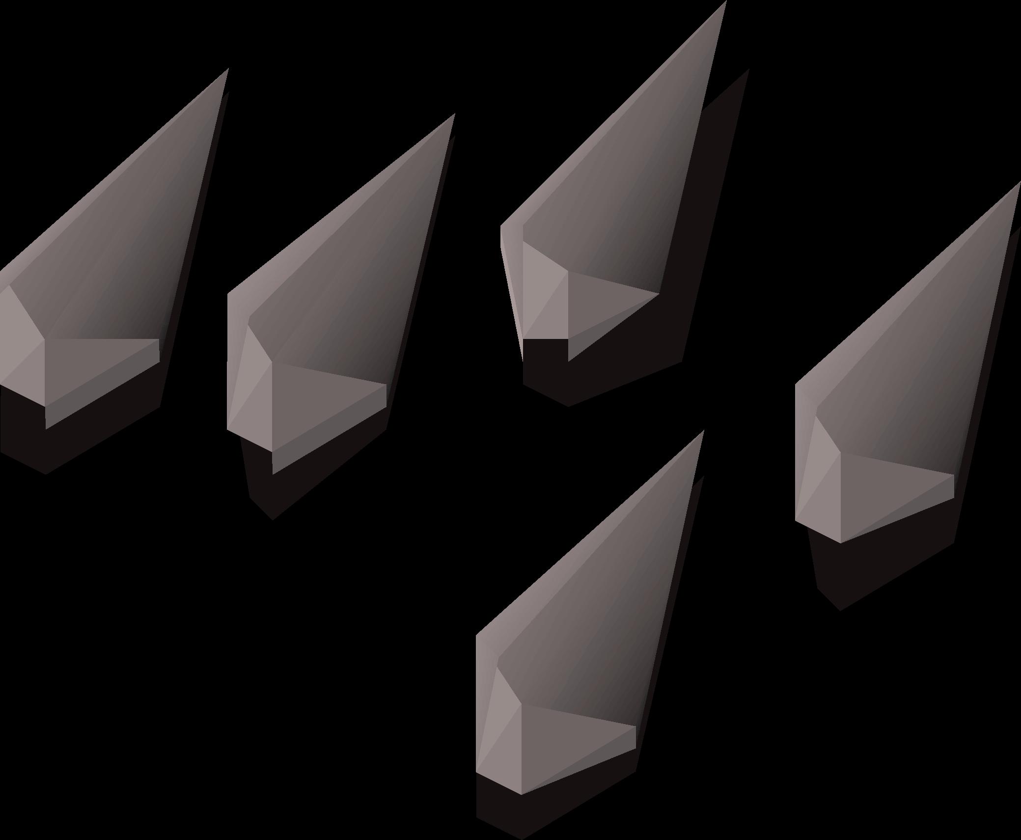 Steel arrowtips