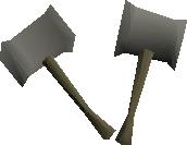 Torag's hammers