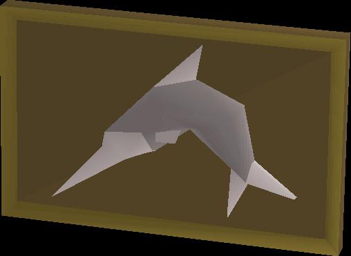 Mounted swordfish