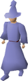 Blue robes equipped