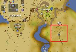 Uzer Hunter area location.png