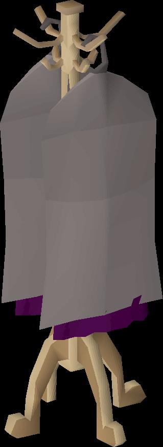 Oak cape rack