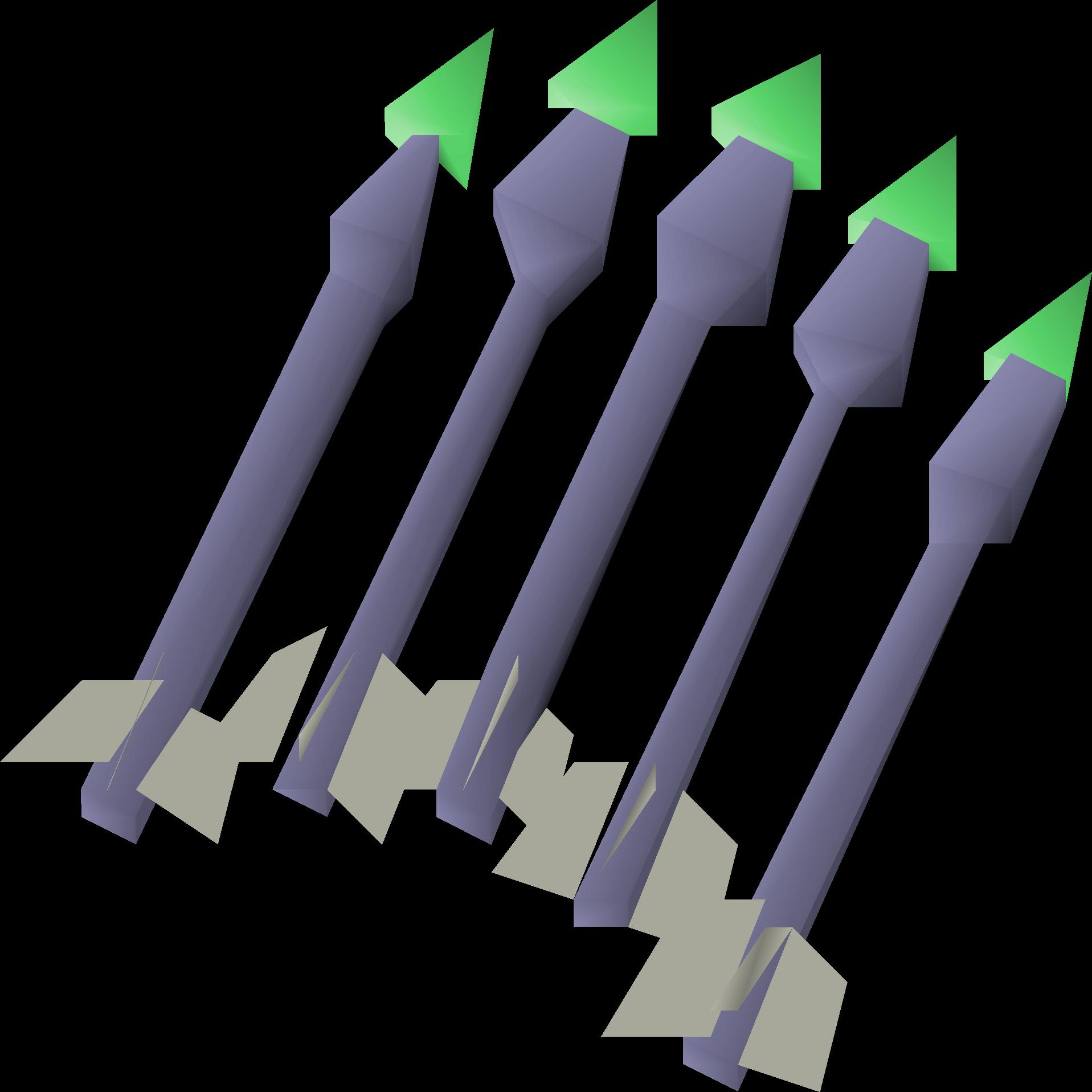 Emerald bolts (e)