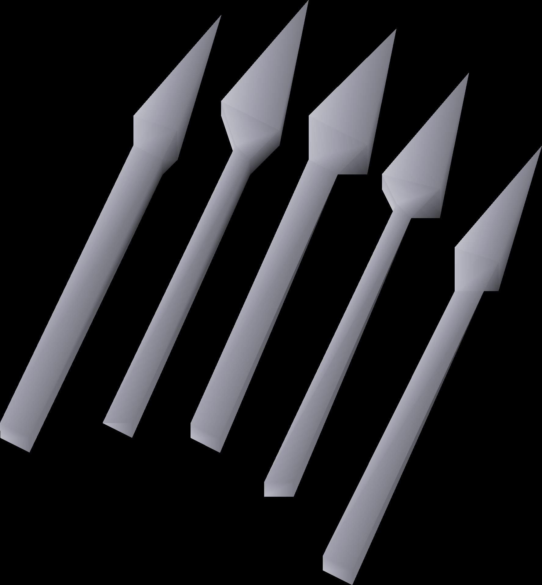 Silver bolts (unf)