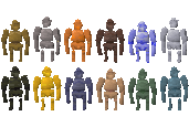 Colourful Golems & Graphical Improvements