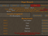 Slayer reward point