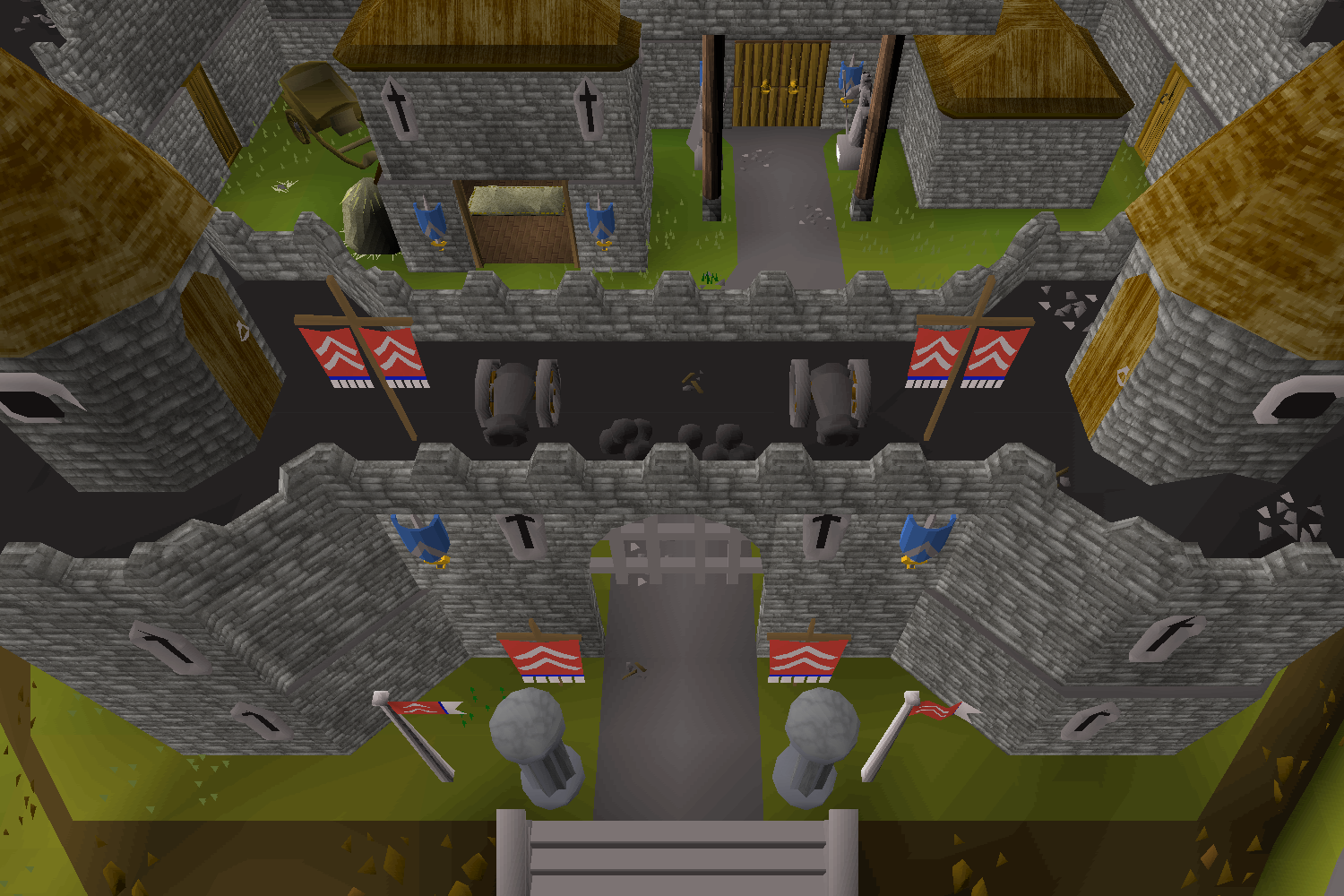 Money making guide/Collecting black scimitars from Ardougne Castle