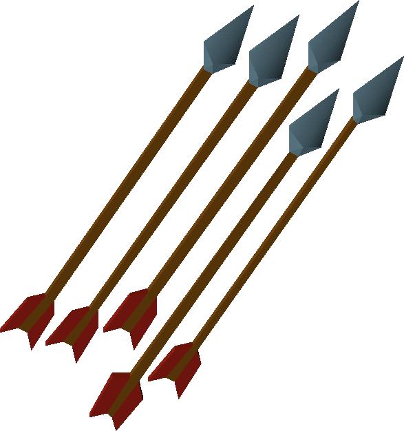 Rune arrow