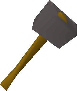 Iron warhammer