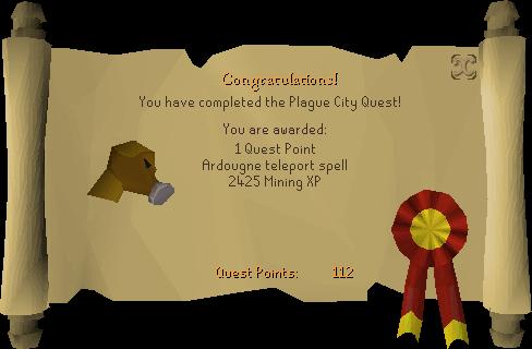 Plague City reward scroll.png