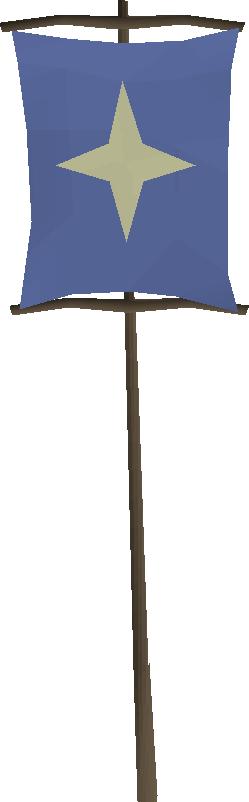 Saradomin banner