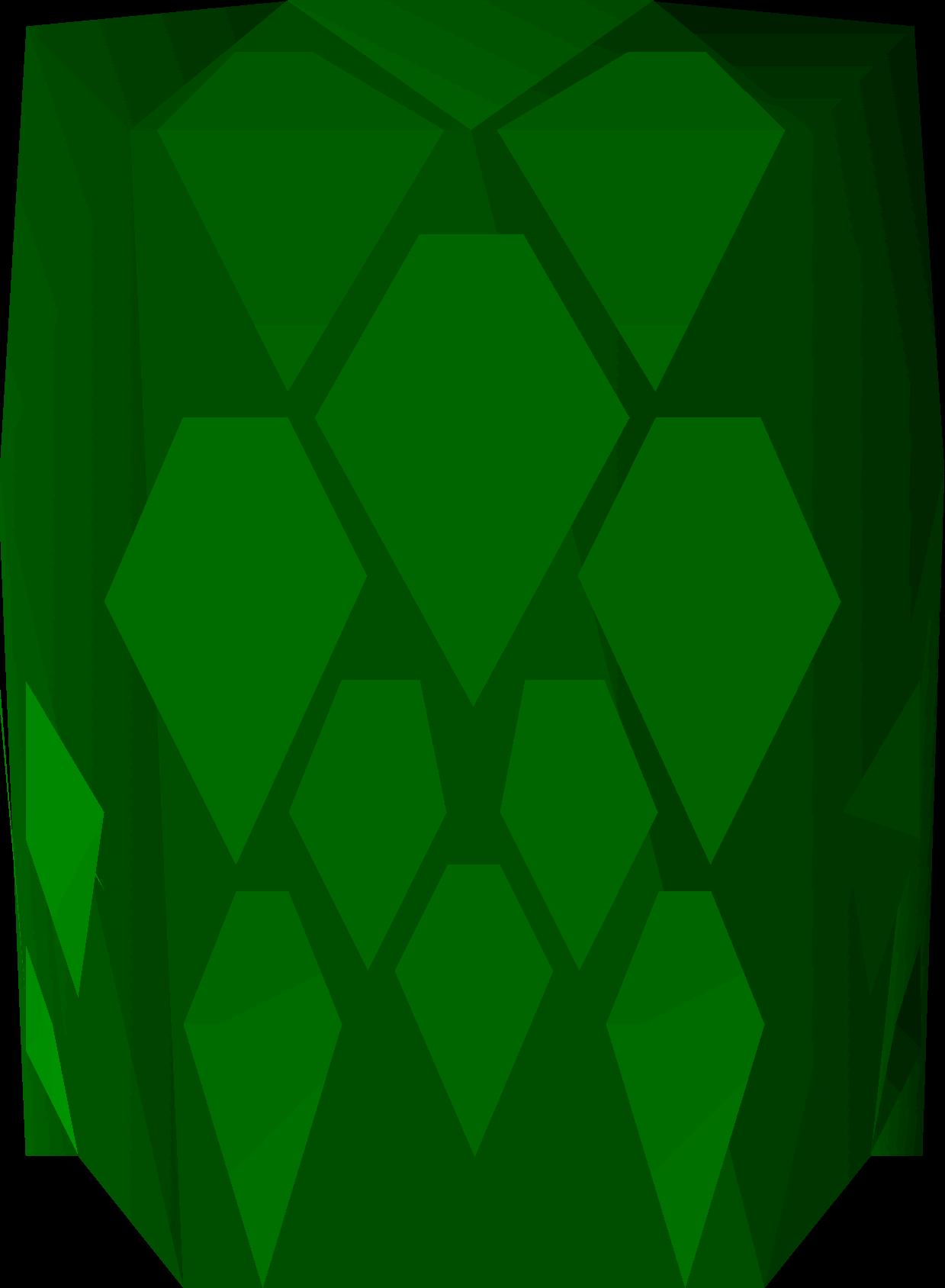 Green d'hide body
