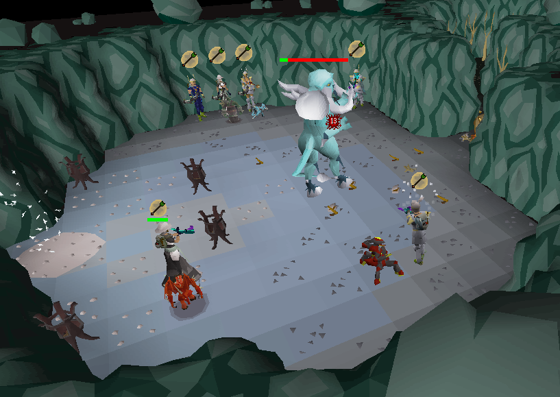 Chambers of Xeric - Ice demon.png