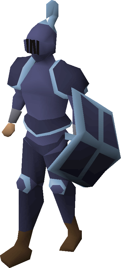 Mithril trimmed armour