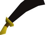 Black scimitar