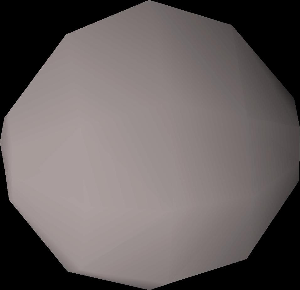 Granite cannonball