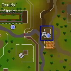 Doric's hut