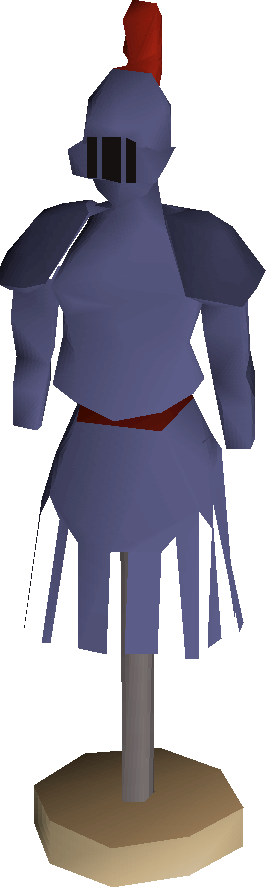 Mithril armour stand