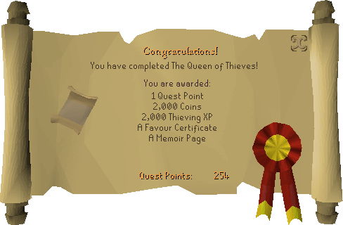The Queen of Thieves reward scroll.png