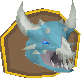 Vorkath's head (mounted) chathead.png