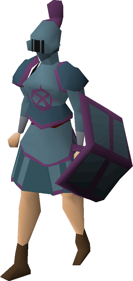 Ancient rune armour set (sk)