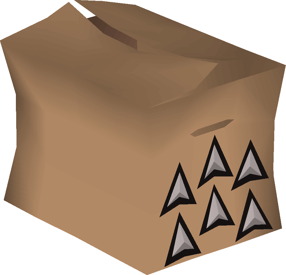 Broad arrowhead pack