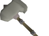 Granite hammer