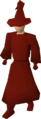 Red robes equipped