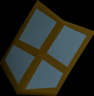 Rune kiteshield