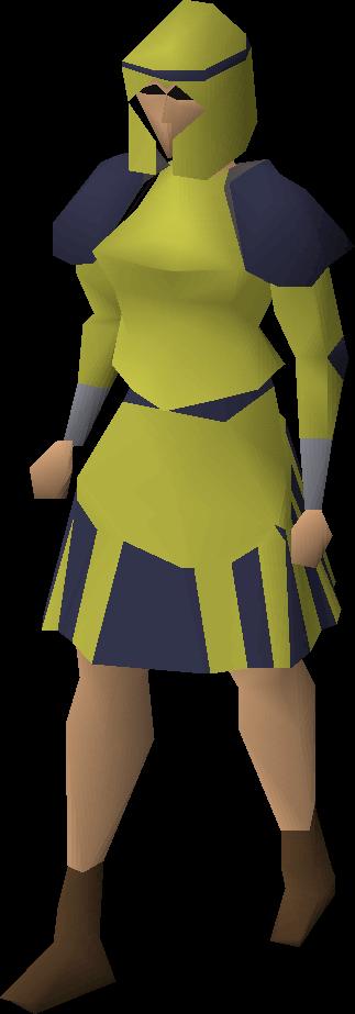 Gold decorative skirt